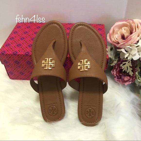 4085aac14c2698 Tory Burch Jolie Flat Thong Sandals